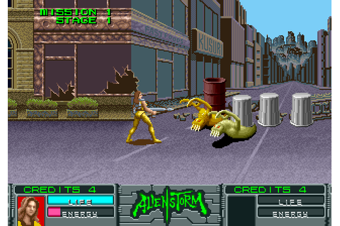 Alien Storm (1990) by Sega Arcade game