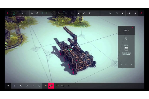 Lets Play Besige. A sandbox siege engine game. - YouTube