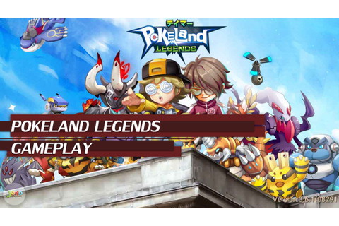 POKELAND LEGENDS - iOS GAMEPLAY | Pokemon MMORPG Game ...