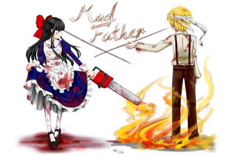 Mad Father Fanart Aya and Dio | Mad Father & Misao ...