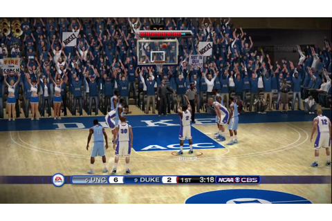 NCAA Basketball 10 (Xbox 360) HD Demo gameplay: Duke vs ...