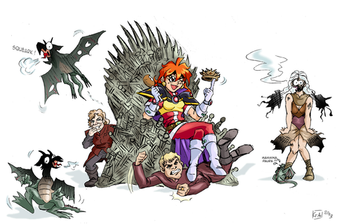Slayers vs Game of Thrones by DarkKnight81 on DeviantArt