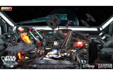 Game Review: Zen Pinball 2 - Star Wars Pinball: The Force ...