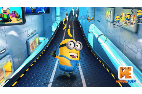 Despicable Me: Minion Rush - Google Play Trailer - YouTube