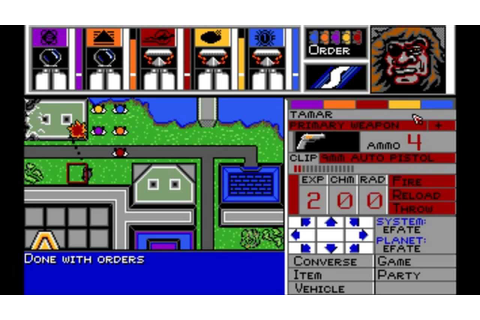 MegaTraveller I: The Zhodani Conspiracy (MS-DOS) Intro und ...