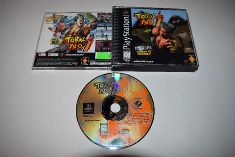 Tobal No 1 Playstation PS1 Game Disc w/ Case 711719420828 ...