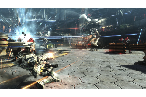 Vanquish (PS3 / PlayStation 3) Screenshots
