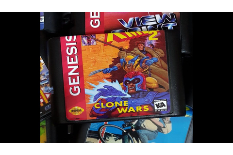 X-Men 2: Clone Wars long game play genesis mega drive ...