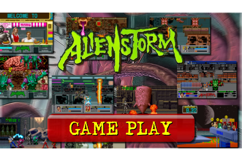 Alien Storm (Arcade) [Game Play] - YouTube