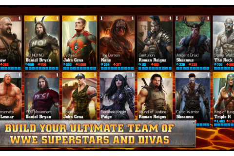 WWE Immortals – Games for Android 2018 – Free download ...