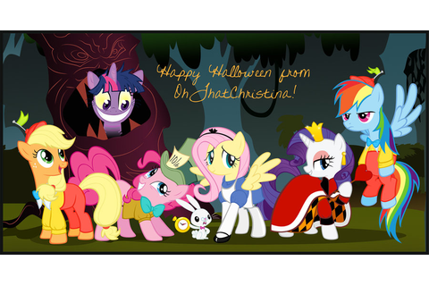 Image - In the creepy woods.jpg | My Little Pony Fan Labor ...