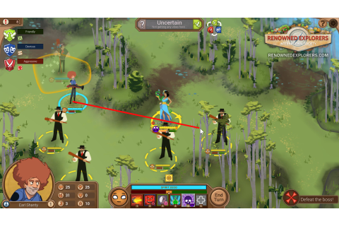 Renowned Explorers : International Society – Game Side Story
