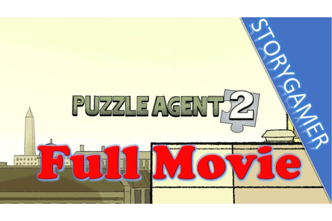Puzzle Agent 2 Game Movie All Cutscenes - YouTube