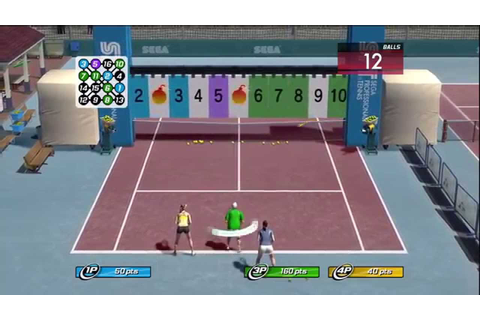 Virtua Tennis 3 Court Games Gameplay (360) - YouTube