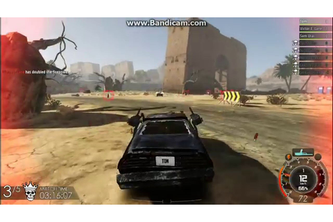 Gas Guzzlers Extreme- Mad Max car in game - YouTube