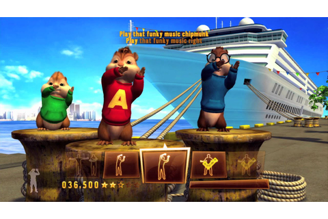 Alvin and The Chipmunks: Chipwrecked Video Game Trailer ...