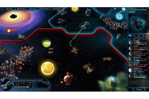 Galactic Civilizations III preview: 64 Bits of hexes ...