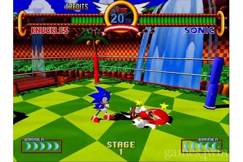 Sonic Fighters Download on Games4Win