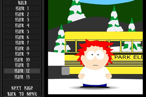 South Park Character Creator Game - South Park games ...