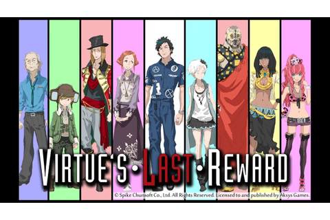 Longplay (HD) ~ 01 ~ Zero Escape: Virtue's Last Reward ...