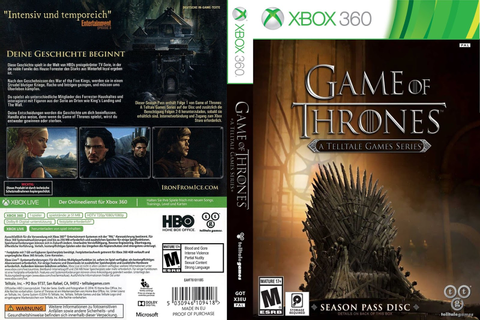 Game of Thrones: A Telltale Games Series (Cover 2015) Capa ...