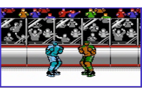 Blades Of Steel (NES) Fight - YouTube