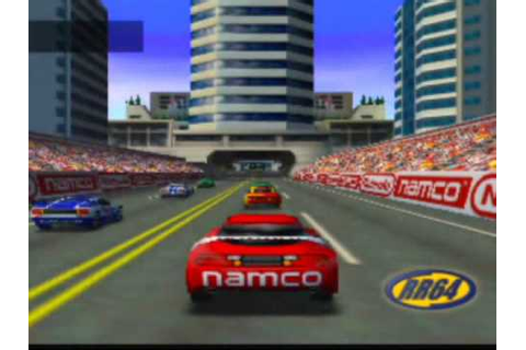Ridge Racer 64 Game Sample - N64 - YouTube
