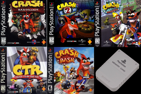 Faid's Blog™: Crash Bandicoot PSX 100% Save Game