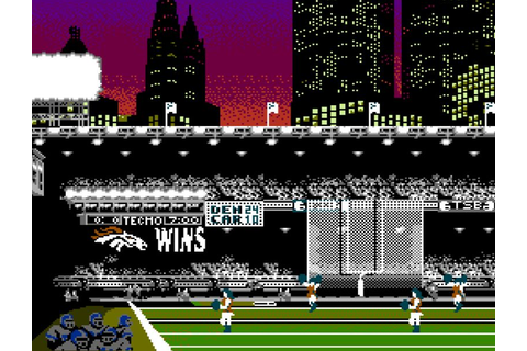 Updated Retro Sports Games : tecmo super bowl
