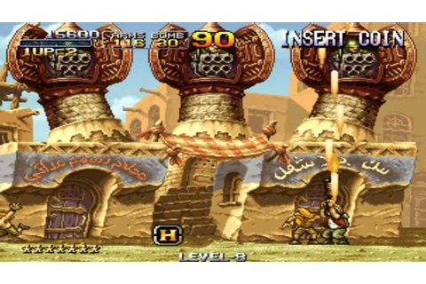 [HD] Metal Slug 2 Mission 1 1998 SNK Mame Retro Arcade ...