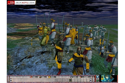 Test Empires sur PC