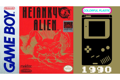 Heiankyo Alien - Game Boy (1990) [Gameplay / Let's Play ...