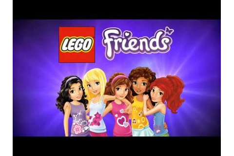 Lego Girls Games - LEGO Friends dress up Lego Girls