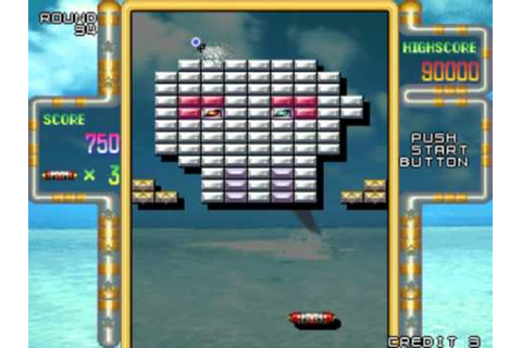 Arkanoid Returns ARCADE (Very Hard Difficulty) - Real-Time ...