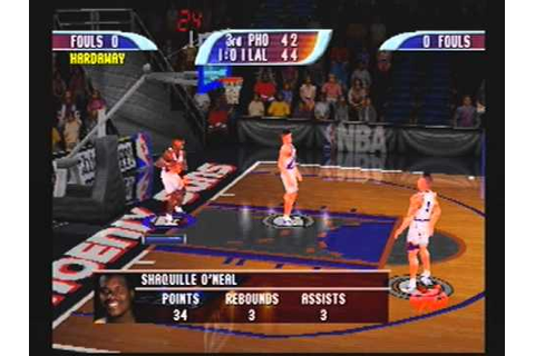 NBA Hoopz LAKERS vs. SUNS (Playstation1) - YouTube