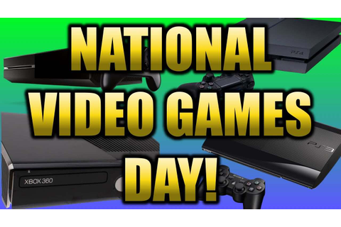 17 Best National Video Games Day 2017 Greeting Ideas On ...