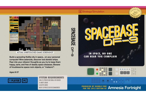 Spacebase DF-9 (2014) by Double Fine Windows game