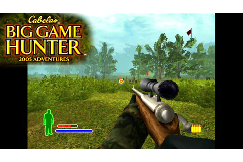 Cabela's Big Game Hunter 2005 Adventures ... (PS2) - YouTube