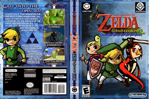 The Legend of Zelda: The Wind Waker - Game Cube - Ultra Capas
