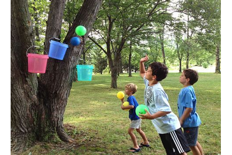 Let's Play Bucket Ball | Picnics, Buckets and Game