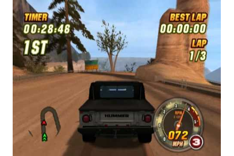 Hummer Badlands (PS2 Gameplay) - YouTube