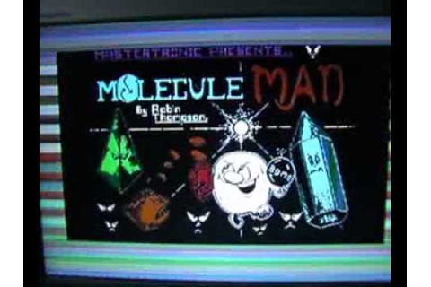 Mastertronic Chronicles - Molecule Man (1986) Game Review ...