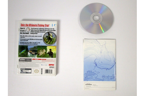 Rapala Tournament Fishing game for Wii (Complete) | The ...