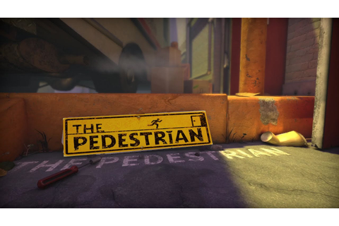 The Pedestrian - game play - YouTube