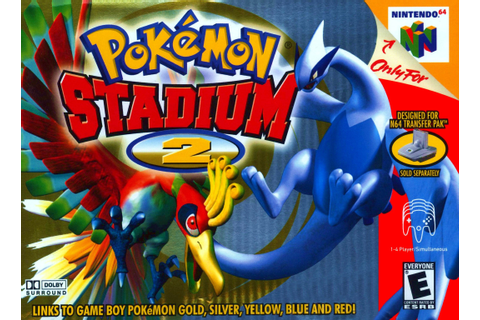 Pokemon Stadium 2 Nintendo 64 Game