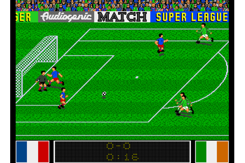 Emlyn Hughes International Soccer (1990) Amiga game