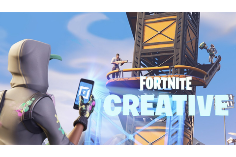 Epic Games reveals new 'Fortnite Creative' mode - GameAxis