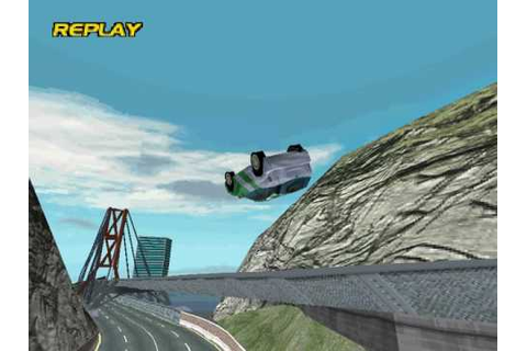 Vanishing Point on PS1 has the most realistic physics in a ...