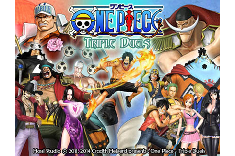 One Piece Triple Duels PC Games [Update] | Anime PC Games ...