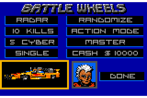 AtariAge - Atari Lynx Screenshots - BattleWheels (Beyond ...